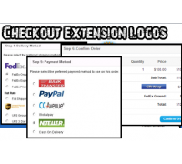 [1.5.x] Checkout Extension Logos (Payment, Shipping, Order Total)