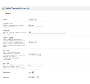 [1.5.x] Global Payments Payment Integration