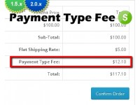 Payment Type Fee Module (1.5.x/2.x)