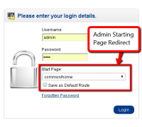 Admin Login Redirect Route (1.5.x/2.x.x)