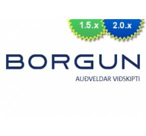 Borgun.is Payment Integration (1.5.x/2.x)