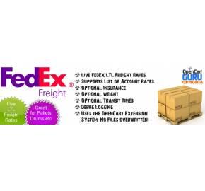 FedEx LTL Freight Live Rates (1.5.x/2.x)