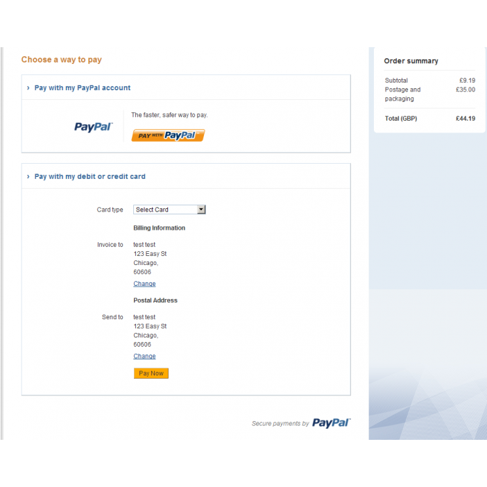 Paypal Pro Hosted/Integral Solution + iFrame (15x/2x/3 0)