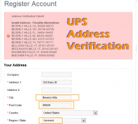 UPS Address Verification (vQmod)