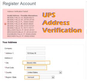 UPS Address Verification (vQmod)