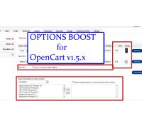 [1.5.x] Options Boost (for OpenCart 1.5.x only)