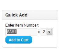 [1.5.x] Quick Add-To-Cart By Sku/Model