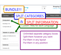 [1.5.x] BUNDLE: Split Categories & Split Information Modules