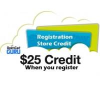 Registration Store Credit