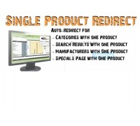 Single Product Auto Redirect